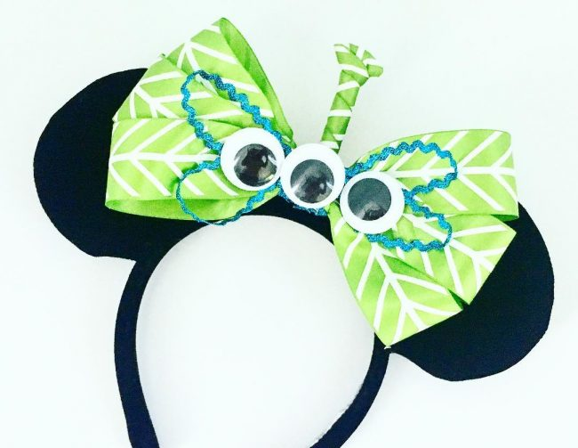 Green Alien Minnie ears