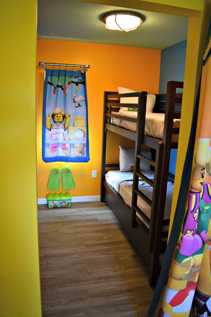LEGOLAND Beach Retreat Kids Bunks