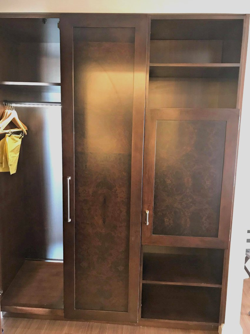 Disney Yacht Club New Room 2018 Closet