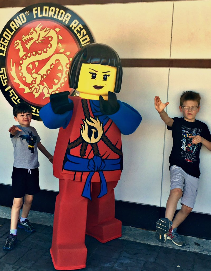 Boys in LEGO Ninjago World