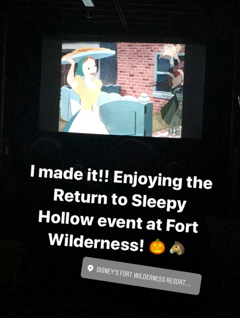 Return To Sleepy Hollow movie Fort Wilderness
