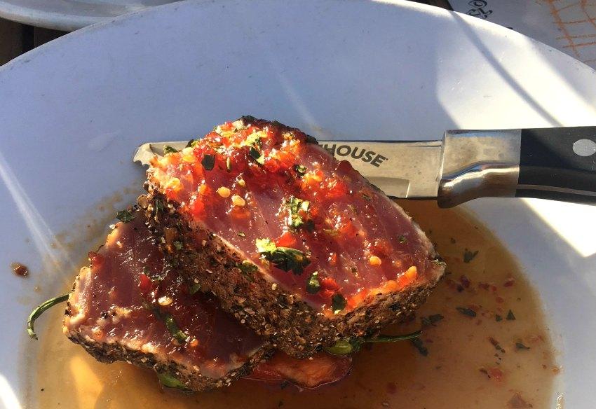 The Boathouse Tuna Steak