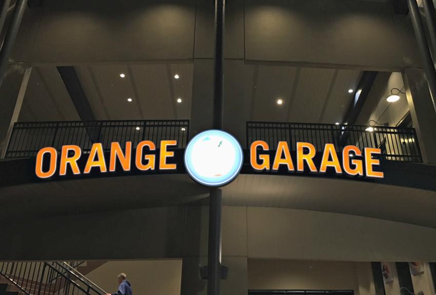 Parking at Disney Springs Orange Garage
