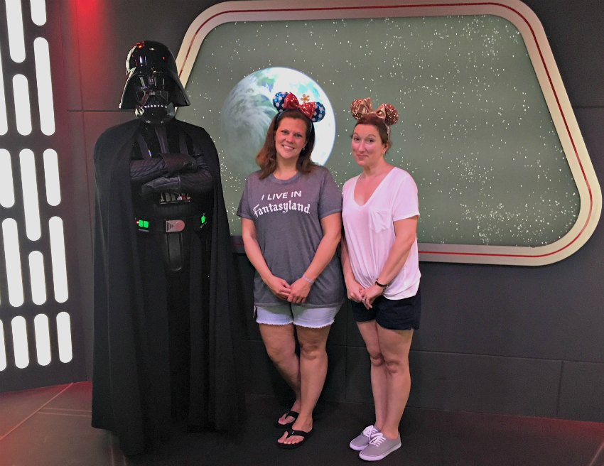 Darth Vader Disney Visa Photo Op