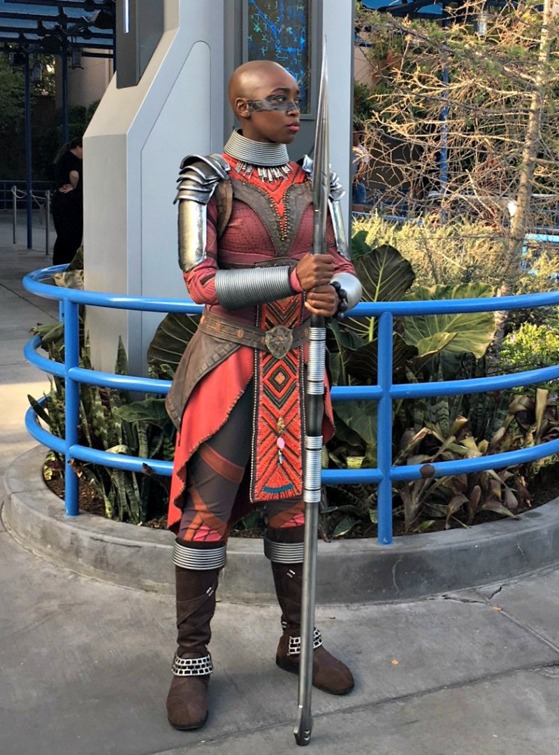Dora Milaje at Disneyland Black Panther Meet