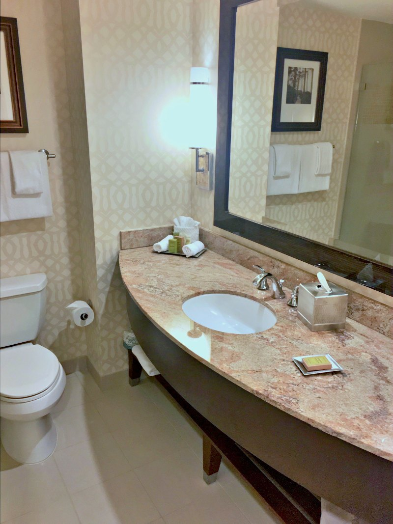 Hilton Orlando Bonnet Creek Bathroom