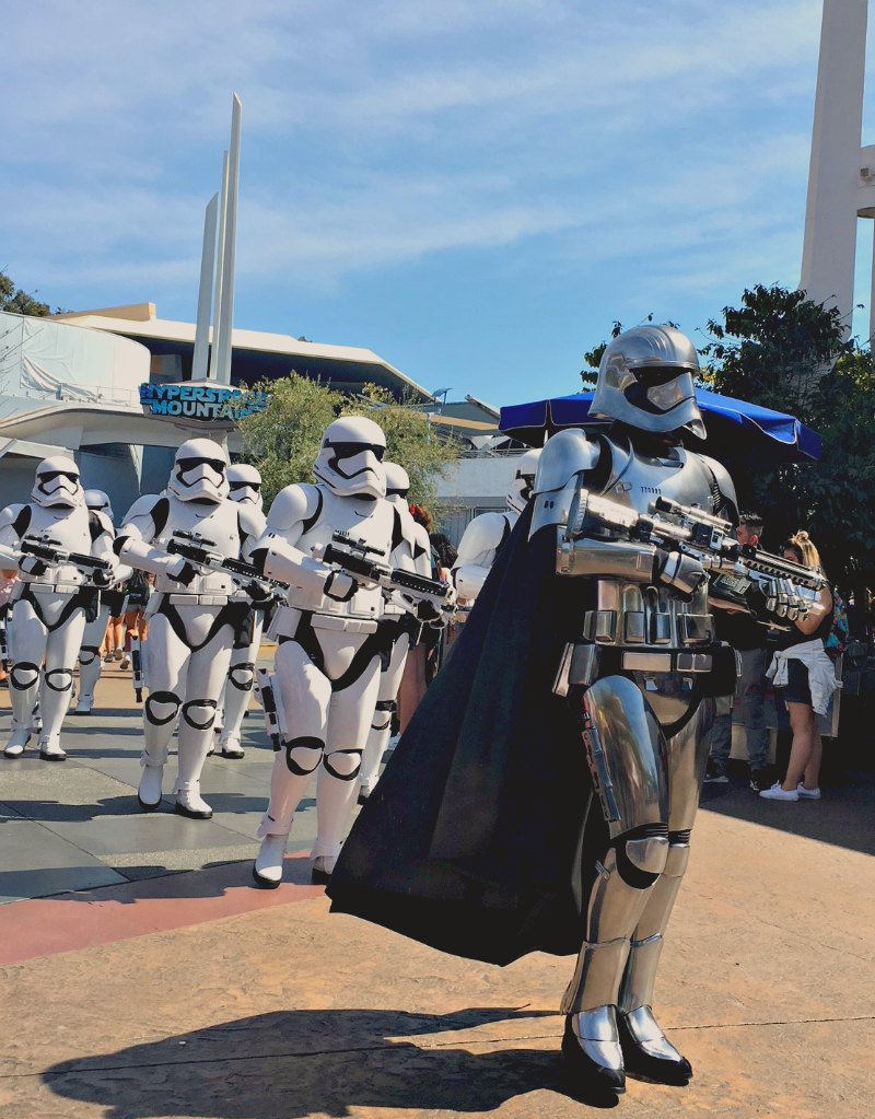 March of the First Order Disneyland