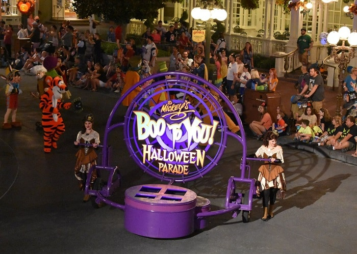 Boo to you disney halloween parade