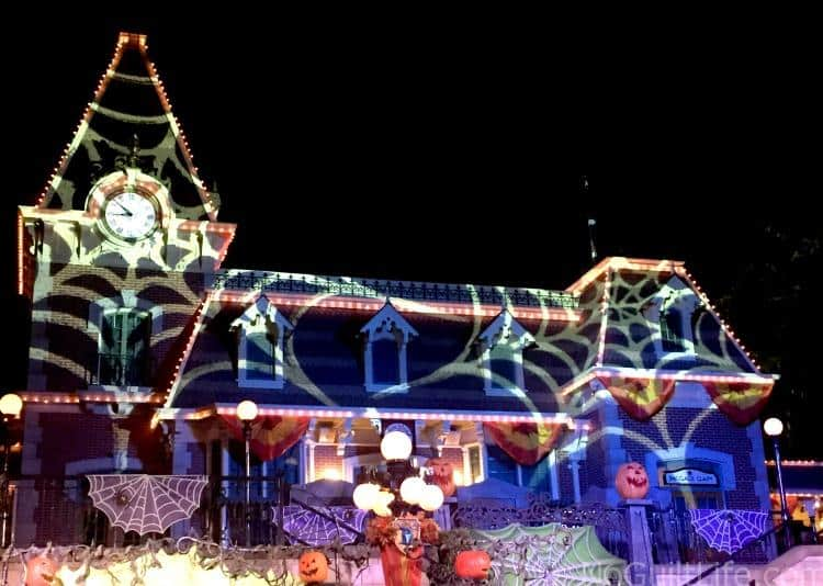 Disneyland Halloween Building Projections