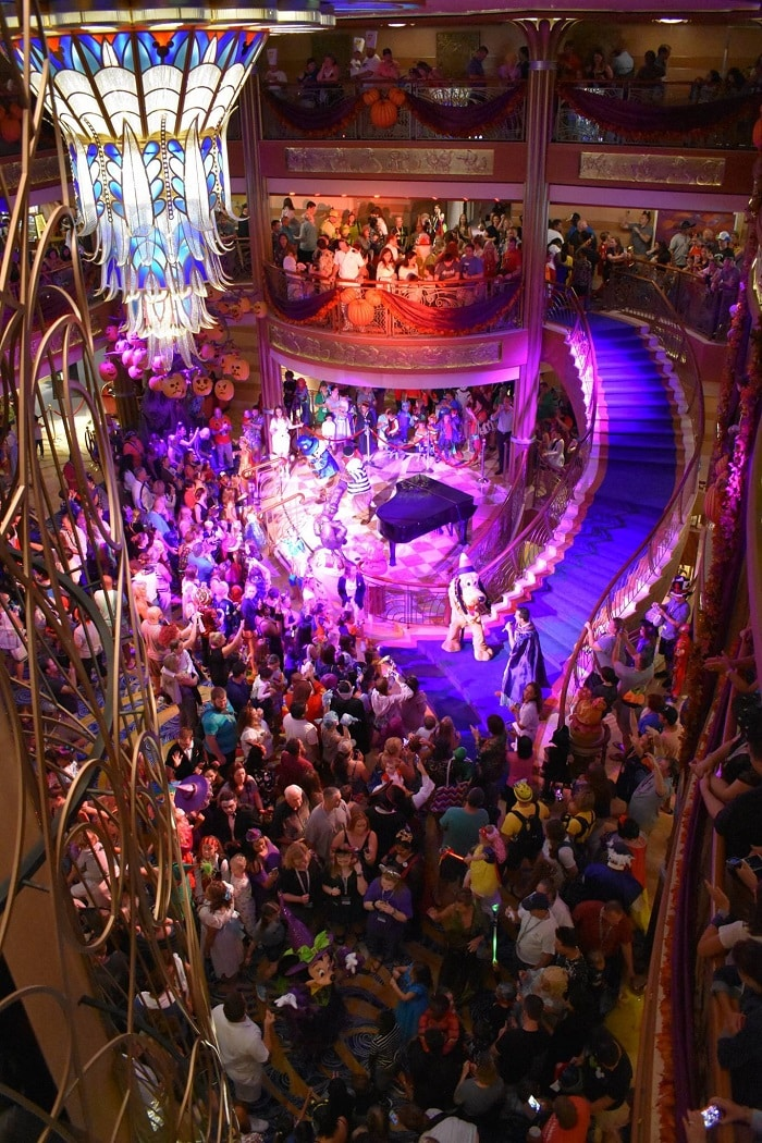 Disney Halloween Party on Disney Cruise