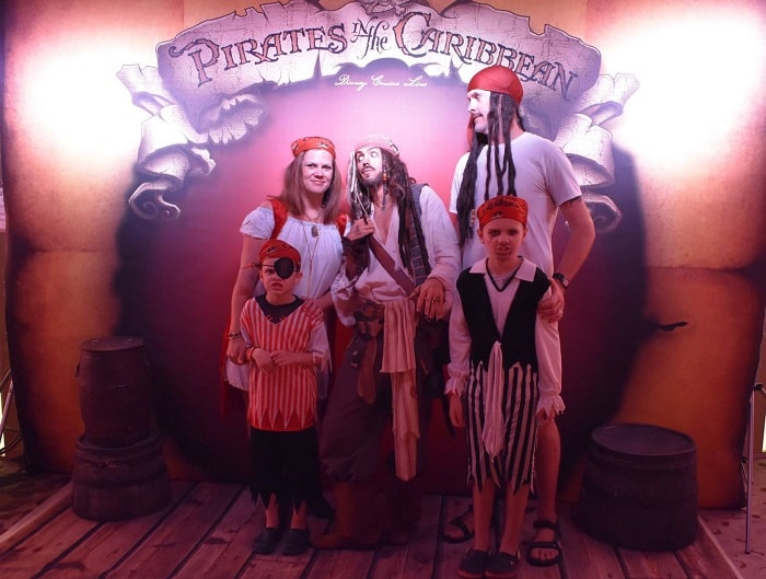 Disney Halloween cruise Pirate night