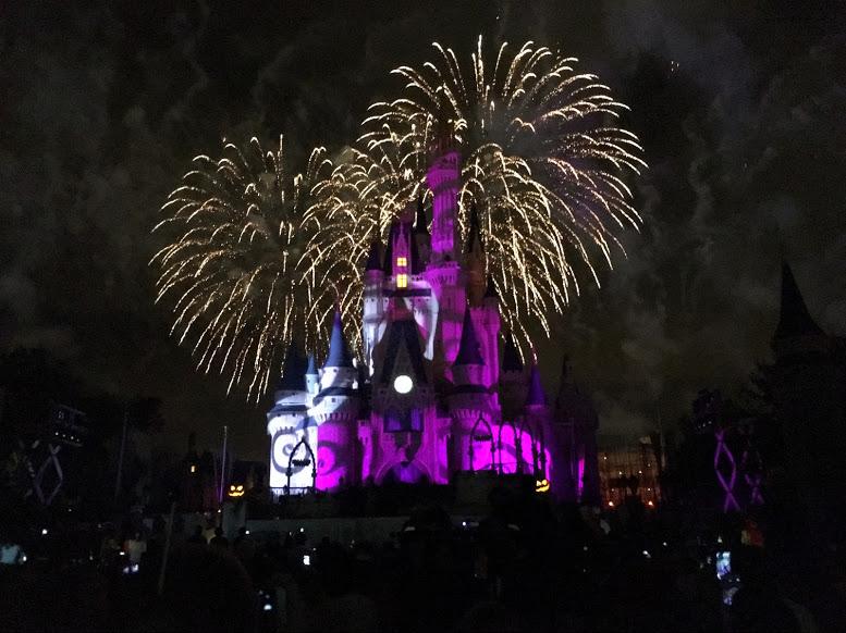 Disney Halloween FIreworks