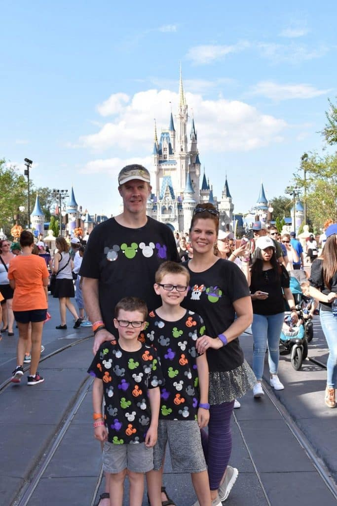 Matching disney family shirts for halloween