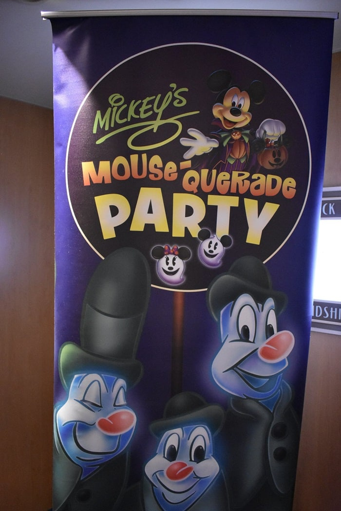 Mickey Mousequerade Party Disney Halloween cruise