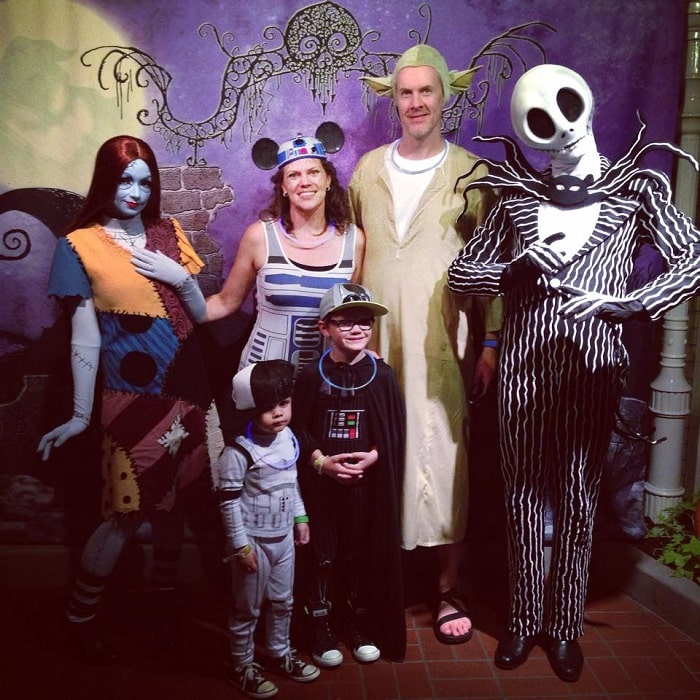 disney halloween matching family costume star wars
