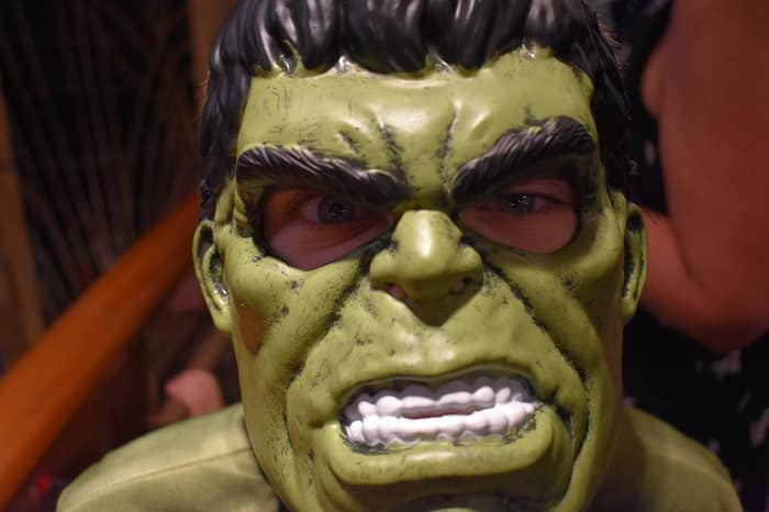 hulk mask disney halloween party DCL