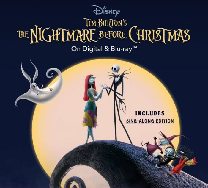 nightmare before christmas Disney halloween movie