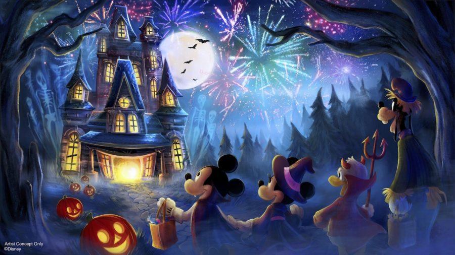New Halloween Fireworks