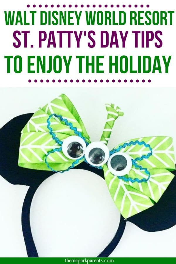 ST. PATRICK'S DAY AT DISNEY WORLD RESORT Pin Image