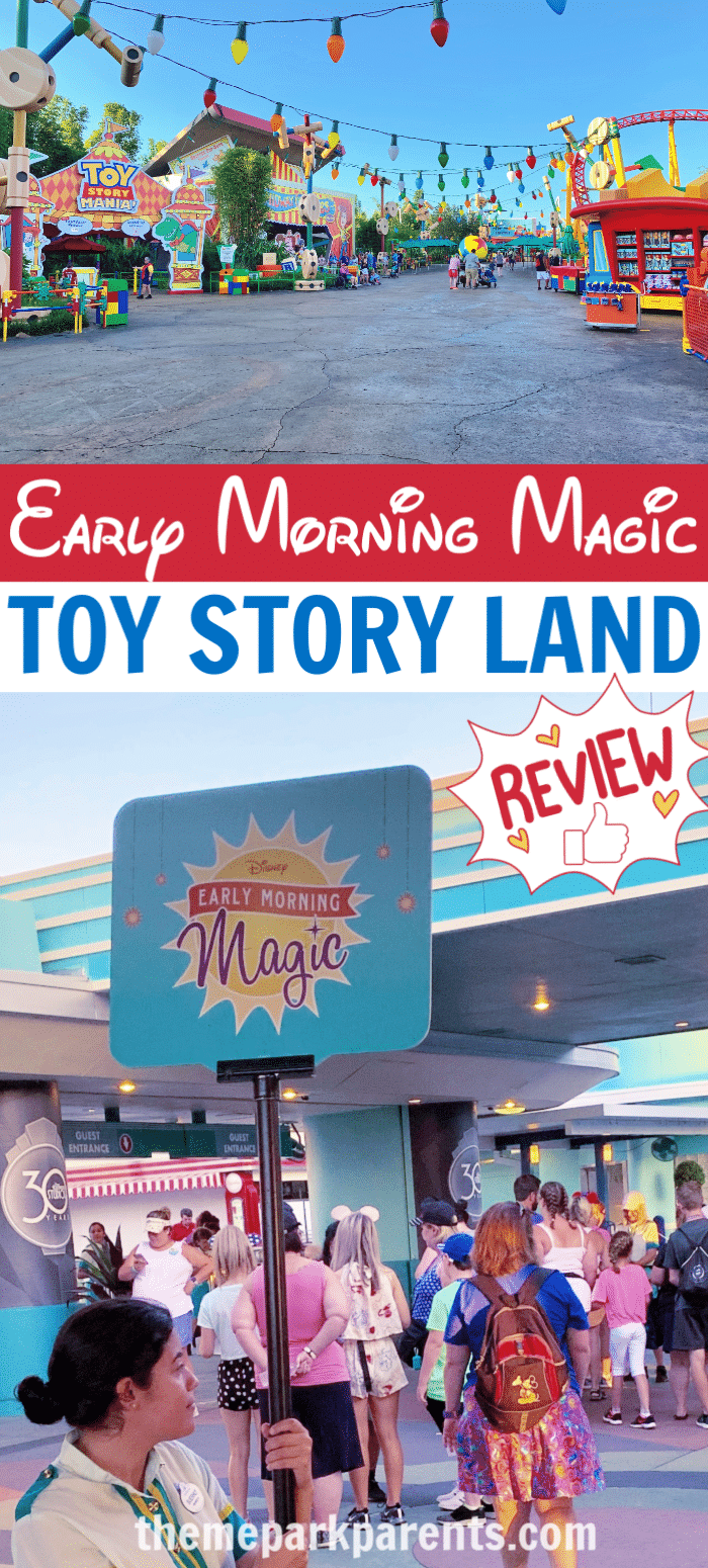 Early Morning Magic at Toy Story Land Review