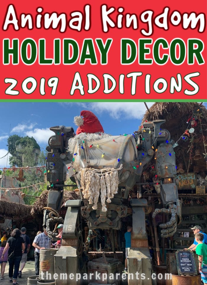 Animal Kingdom Holiday 2019