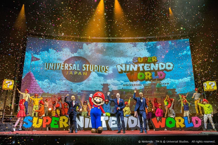 Japan Super Nintendo World Announcement
